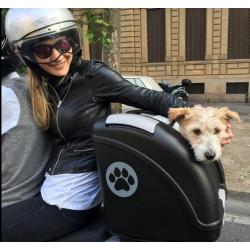 Bolsa nylon para correa extensible para perros (protege y complementa tu correa flexi)