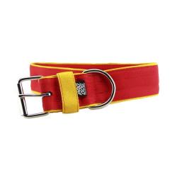 Collar semiestrangulador para perros doble cadena cromado TRIXIE