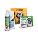 Frontline Petcare Solución limpieza ocular para perros y gatos.