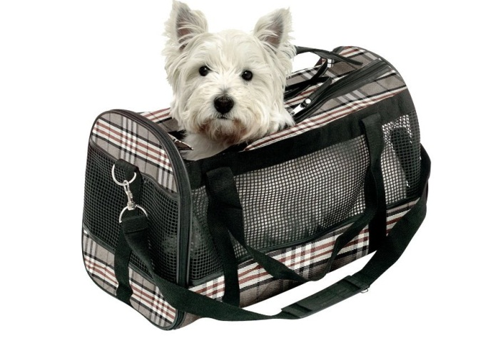 Bolsos de viaje para perros