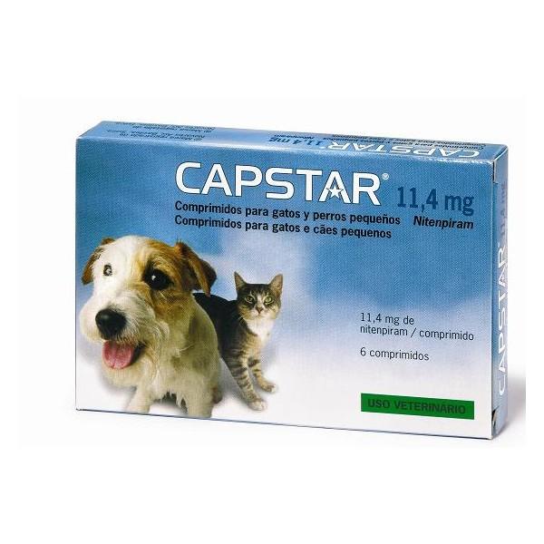 Capstar antiparasitos para perros