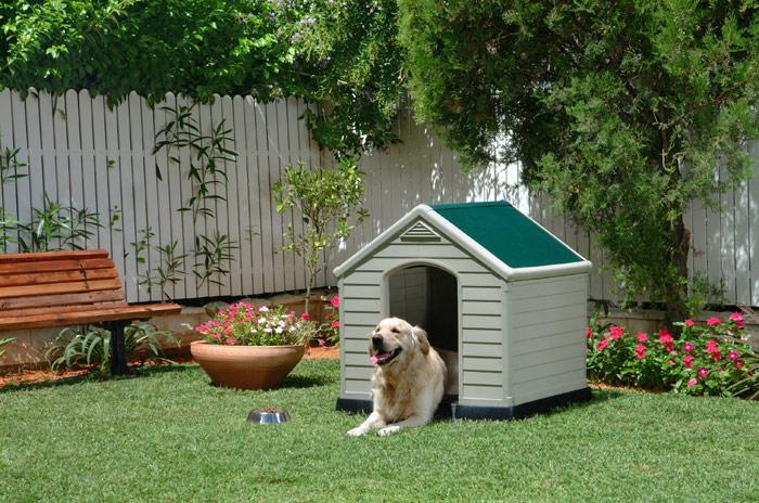 Casetas para perros jaulas y vallas