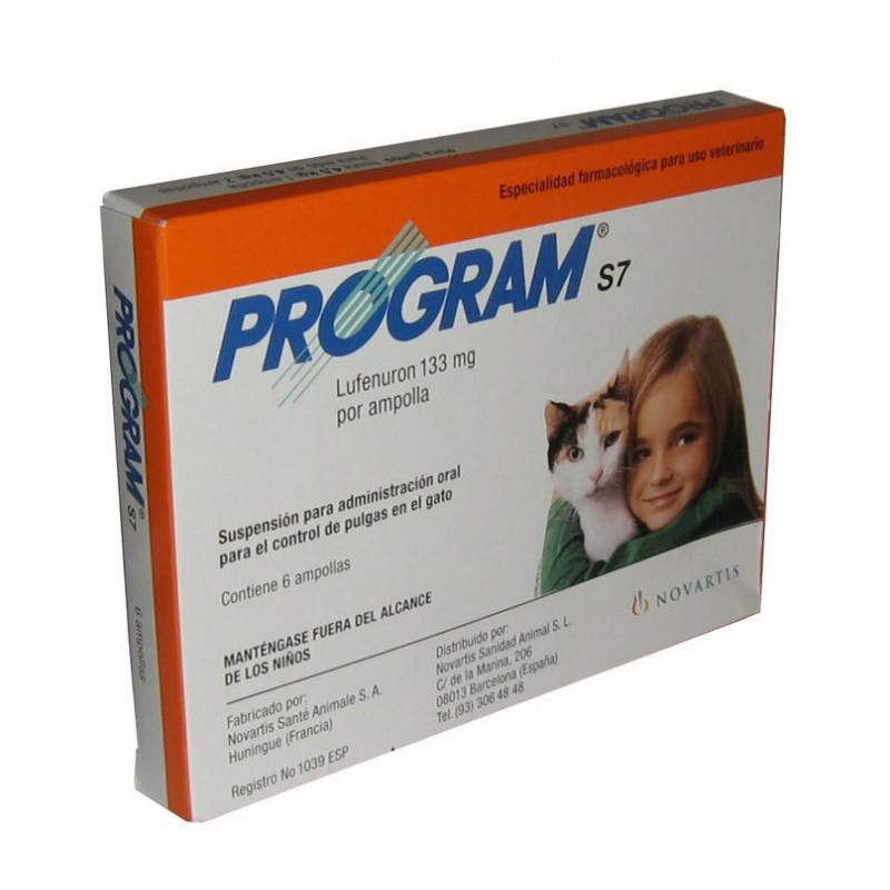 Program gatos antiparasitario